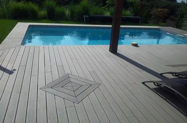 Pose de terrasse pour piscine