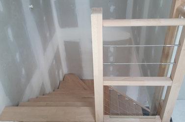 Pose d'escalier près de La Rochelle