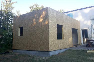 Projet d'extension bois maisons bois