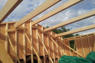 Charpente pour maison ossature bois