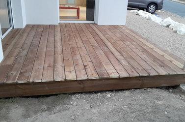 Pose de terrasse bois